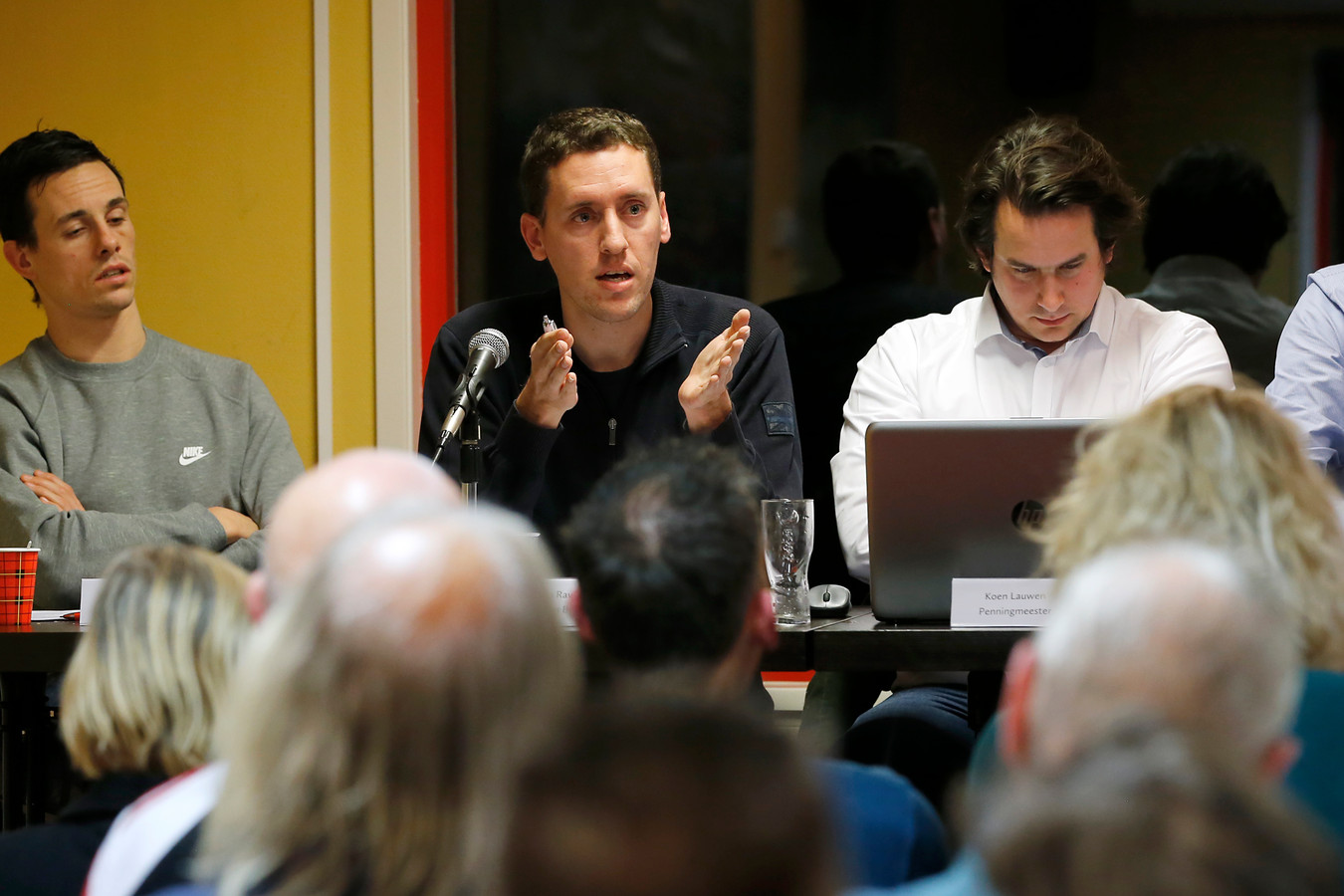 Voorzitter Remco Ravenhorst van FSV De Feijenoorder kan niet wachten om weer meer te organiseren voor de leden.