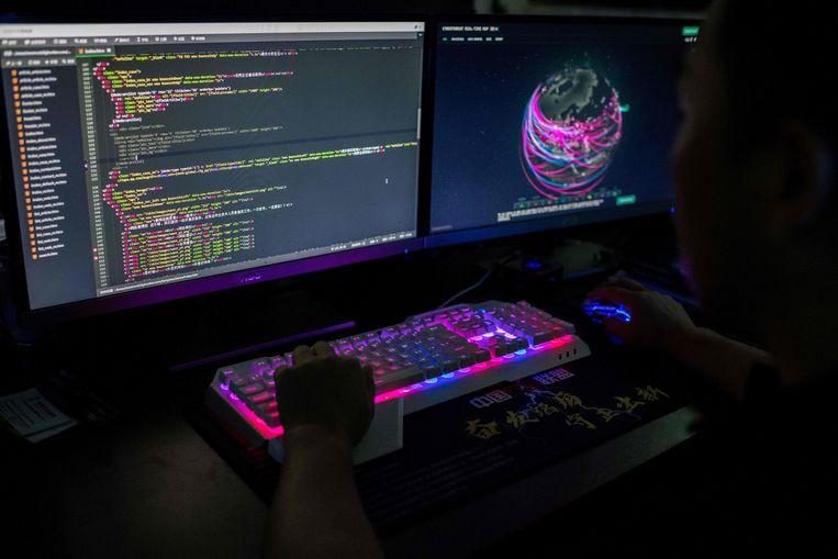 Door een grote hackaanval met zogenoemde gijzelsoftware zijn zo'n tweehonderd bedrijven getroffen. Beeld AFP