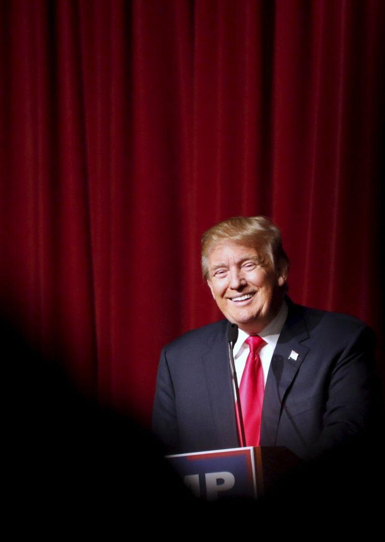 Donald Trump Beeld reuters