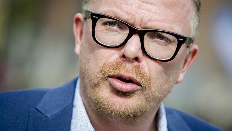 Journalist Jan Roos van weblog GeenStijl wordt naar eigen zeggen lijsttrekker van de partij Voor Nederland (VNL). Beeld anp