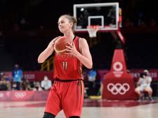 Emma Meesseman dans le cinq majeur du tournoi de basket, l'Américaine Breanna Stewart MVP