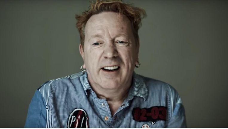 Johnny Lyndon in de commercial van Happy Brush. Beeld