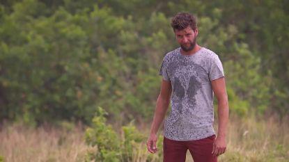 Bartel Van Riet kletsnat in 'Expeditie Robinson'