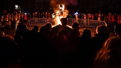 Popverbranding sluit carnaval af in Kastel