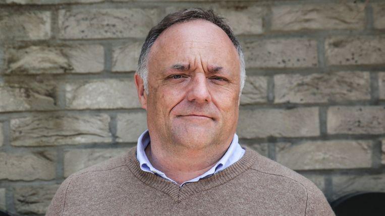 Viroloog Marc Van Ranst  Beeld AFP