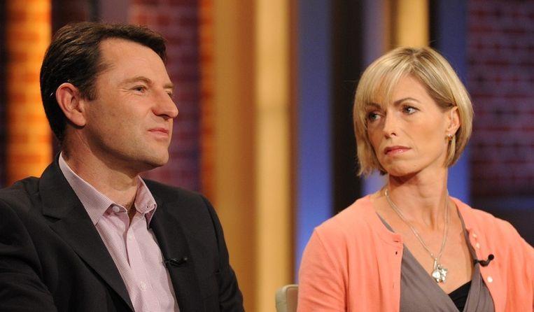 De ouders van het vermiste meisje Madeleine McCann, Kate (R) and Gerry McCann. Beeld epa