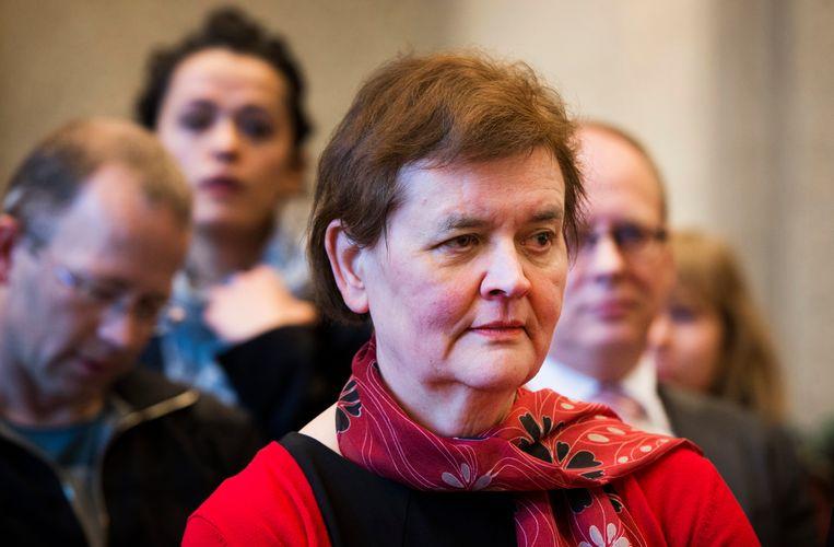 Rector magnificus Universiteit van Amsterdam Dymph van den Boom. Beeld ANP