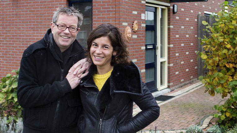 Johan Nebbeling en zijn dochter June zijn allebei groot geworden in Nieuwegein. Beeld Jörgen Caris