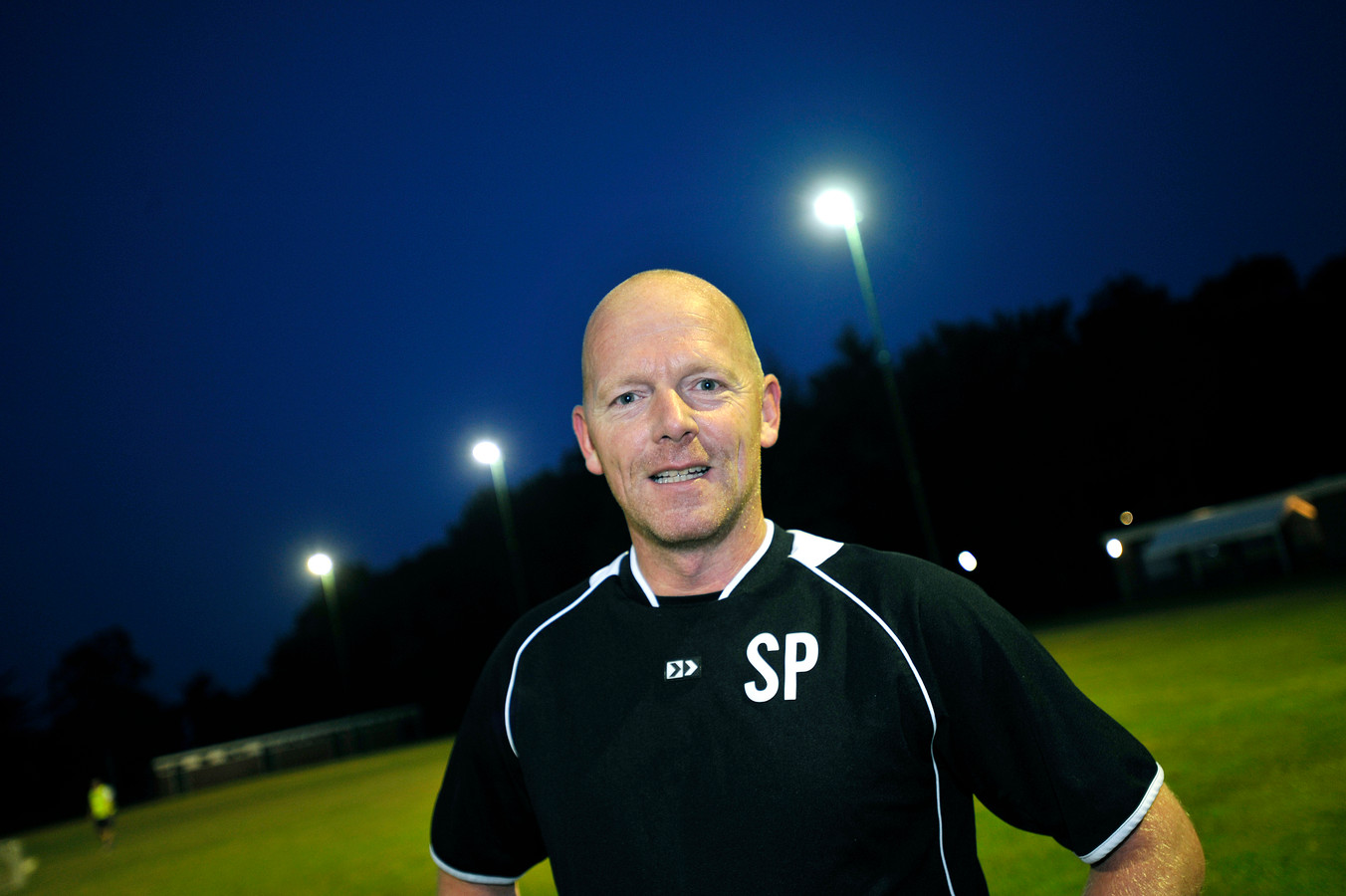 Voetbalcoach Stephan Panman.
