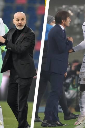 """Coaches zetten de boel op scherp richting Milanese derby: """"Lukaku of Ibrahimovic? Altijd Ibra!"""""""