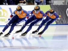 Oranje met wereldrecord naar goud op ploegenachtervolging