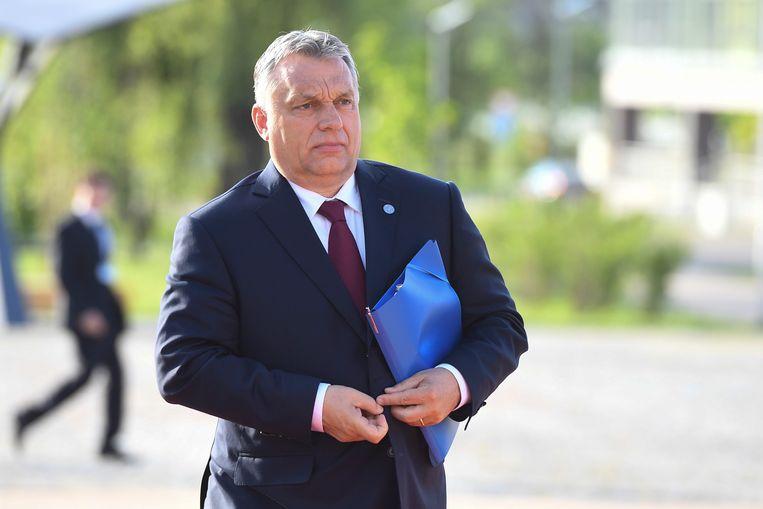 Viktor Orban Beeld EPA