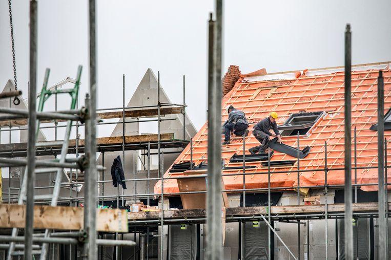 Nieuwbouw in Amersfoort. Beeld Raymond Rutting / de Volkskrant