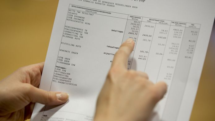 De nieuwste loonstrookjes blijken vaak niet te kloppen