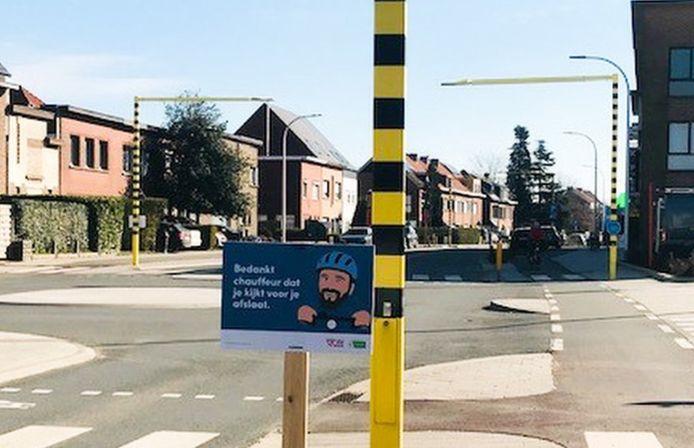 Verkeersveiligheidscampagne in Edegem.