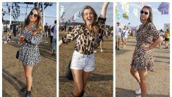 Dé trend voor komende herfst, maar nu al op Pukkelpop: luipaardprints