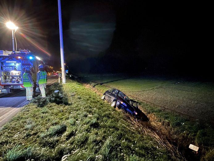 Ongeval E40 Jabbeke.