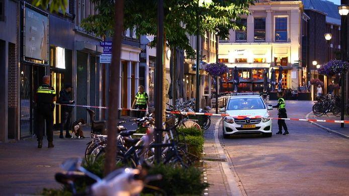 Videostill Schietincident na ruzie aan Oude Vismarkt in Zwolle
