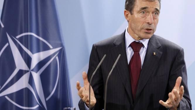 NAVO-baas Rasmussen hoopt op steun van bondgenoten