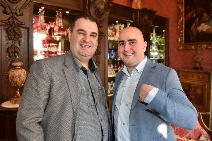 Salar en Sasan Azimi in 2017. Recentere foto's van het duo zijn er niet veel. Sasan schuwt de publiciteit.