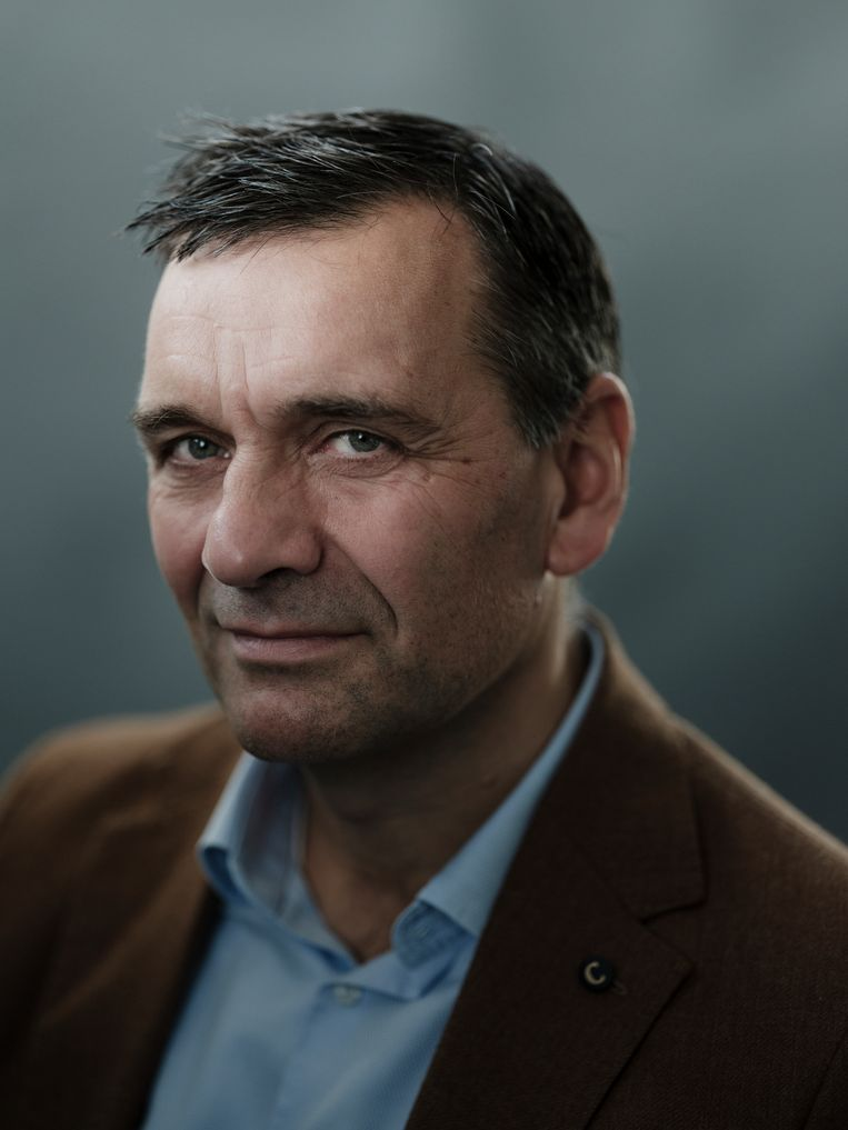 Sander van der Laan  Beeld Frank Ruiter
