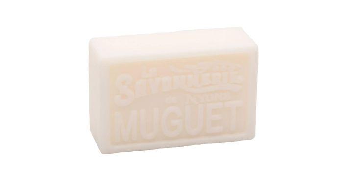 Le savon Muguet de la Savonnerie de Nyons.