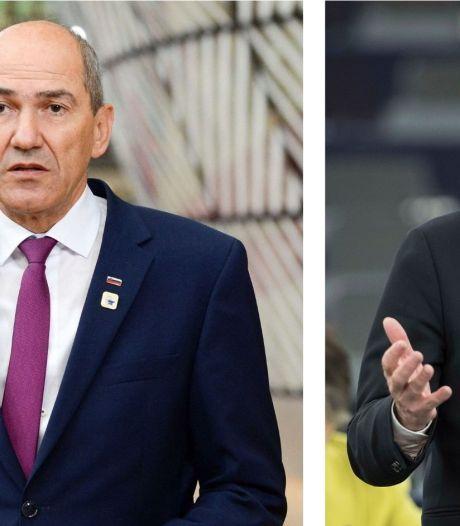 """""""Vous n'êtes plus le chef d'une puissance coloniale"""": le premier ministre slovène s'en prend à Verhofstadt"""