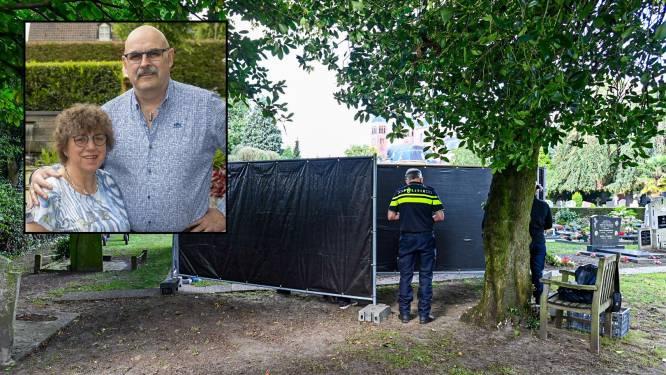 Politie graaft lichaam echtgenote op in onderzoek naar verdachte dood Chris Grinwis in Halsteren