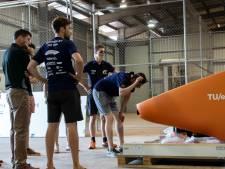 Forse schade aan zonneauto Solar Team Eindhoven bij overtocht