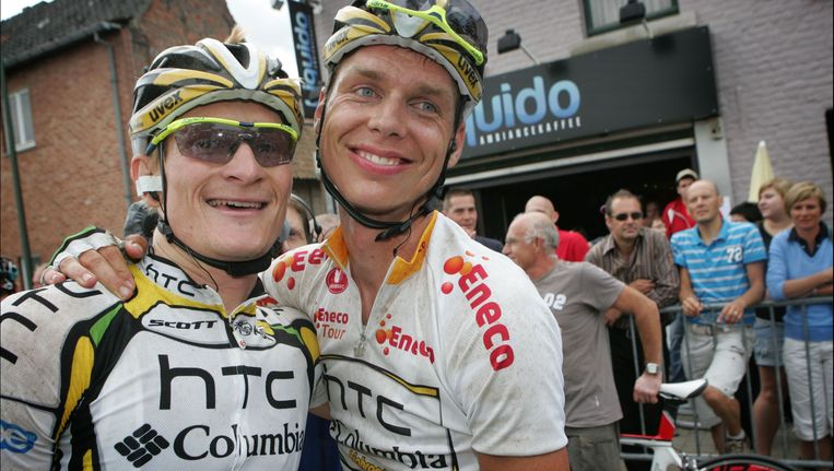 André Greipel en Tony Martin. Beeld PHOTO_NEWS