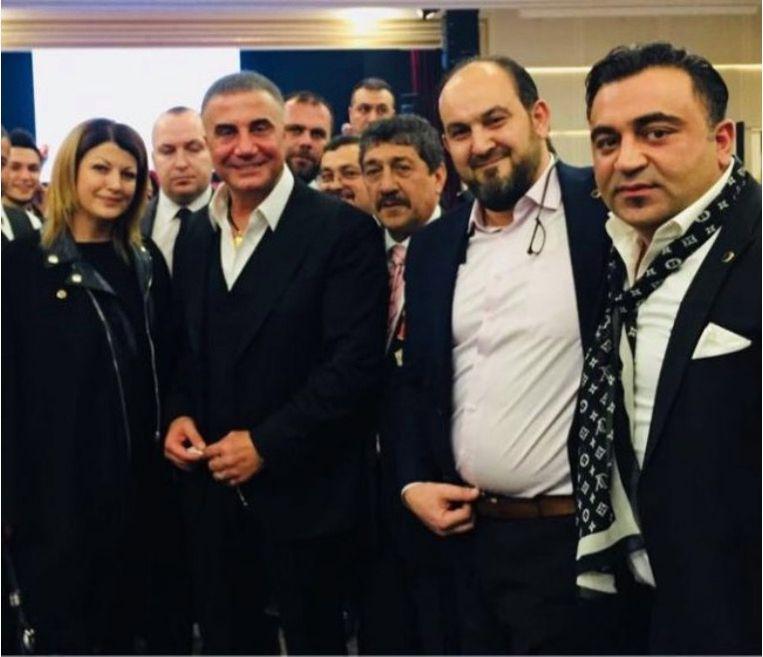 Sedat Peker (erevoorzitter Misiad), Feridun Öncel (Algemeen Directeur Misiad), Ethem Kışlalı (Voorzitter Misiad België) en Kadir Yücelbaş (Ondervoorzitter Misiad België) Beeld rv