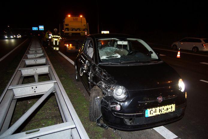 Meerdere ongevallen op Midden-Brabantweg