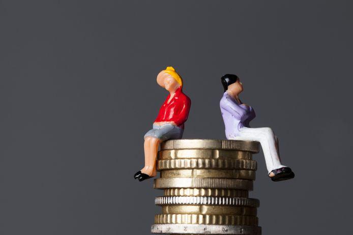 De laatste jaren kwamen de lonen van de mannen telkens zo'n 20 procent hoger uit dan die van vrouwen.