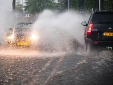Code geel: ook later vandaag zware onweersbuien en wateroverlast