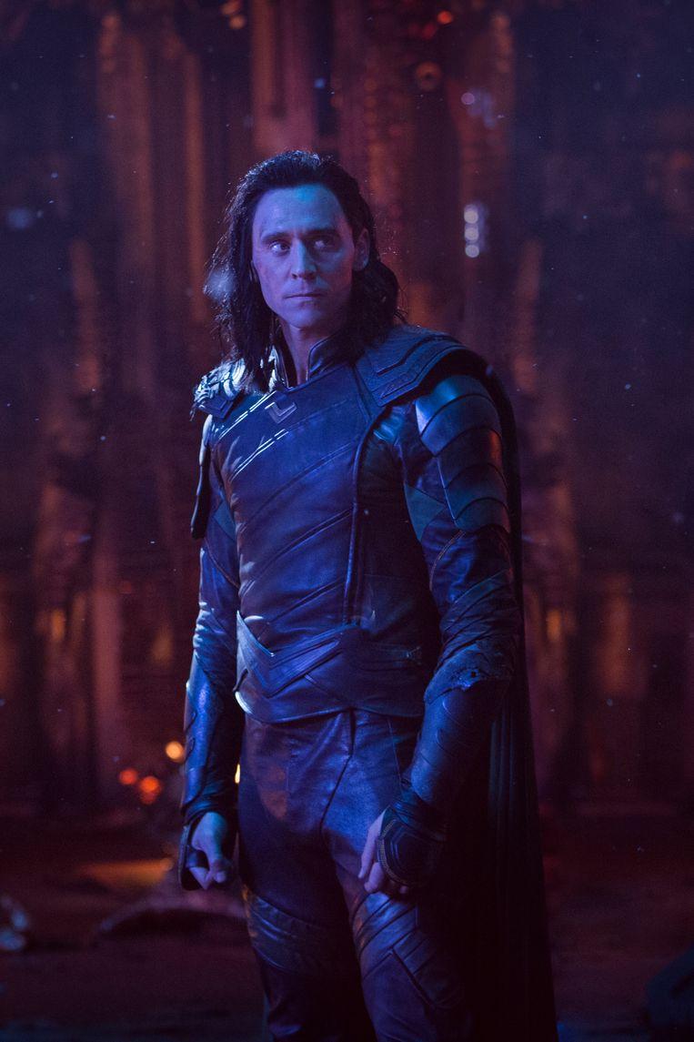 Tom Hiddleston in 'Avengers: Infinity War' Beeld Chuck Zlotnick