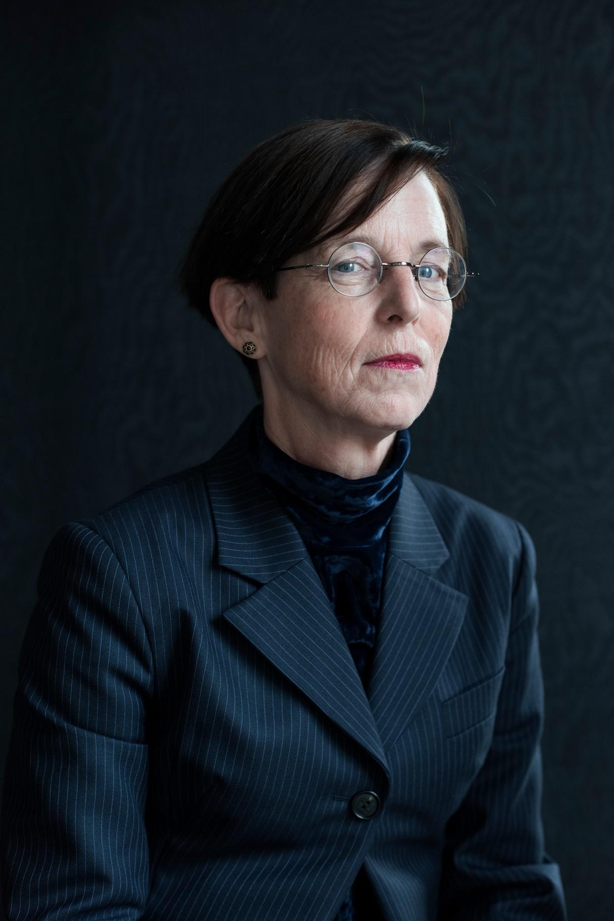 Laura van Geest, bestuursvoorzitter van de Autoriteit Financiële Markten. Beeld Linelle Deunk