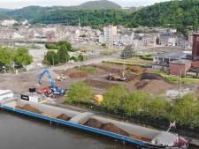 Éco-quartier de Coronmeuse: 5.000 tonnes de terres polluées évacuées par voie fluviale