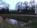 De plek waar Judit in 1993 werd gedumpt. Een vissersplaats 'De Meerval' langs de Elburgerweg tussen Dronten en Elburg.
