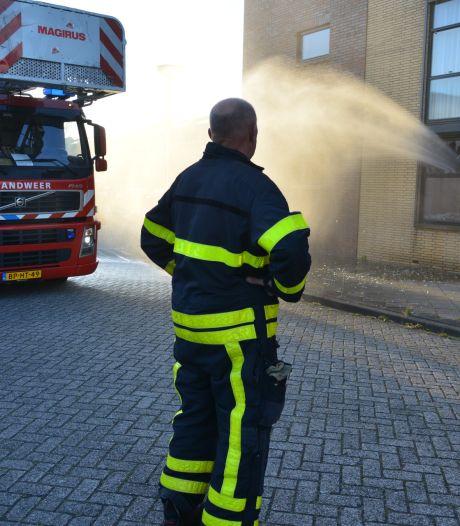 Brand in woning Etten-Leur; appartementencomplex ontruimd