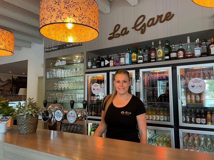 Tina Slabbinck van La Gare in Gistel.