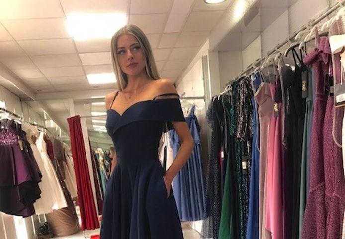 Lonja van der Zanden uit Maarheeze doet al wel modellenwerk, maar deed nog niet eerder mee aan een beauty-wedstrijd.
