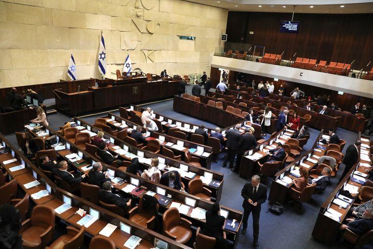 Het Israëlische parlement. Beeld EPA