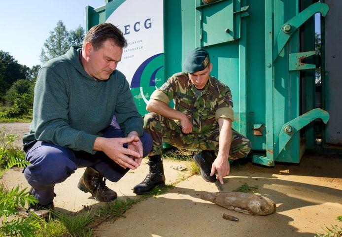 Er wordt al jaren munitie uit de Tweede Wereldoorlog gevonden in en rond Enschede.