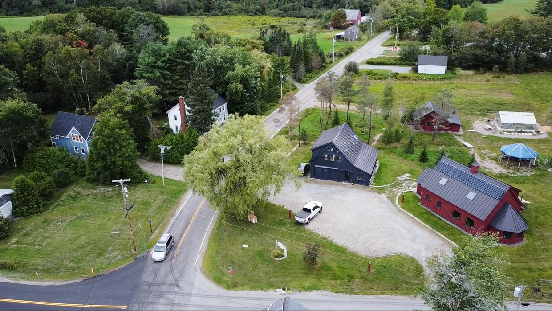 Hope, Maine, vanuit de lucht. Beeld Sergio Avellaneda