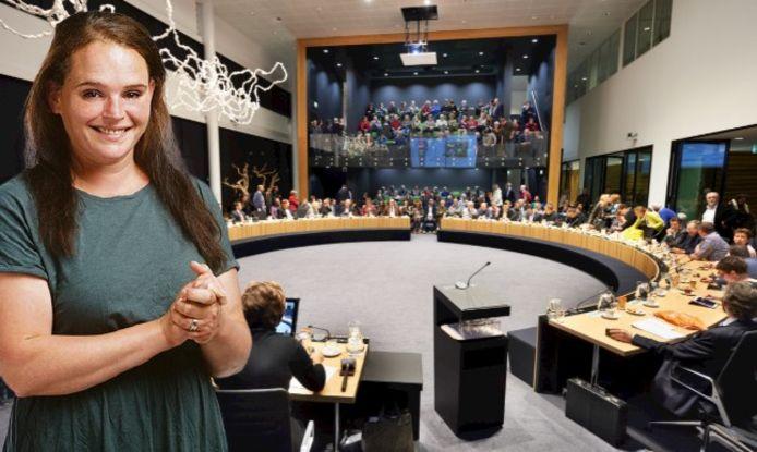Gemeenteraadsvergadering in Oss (2015)