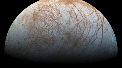 Geisers op Jupitermaan Europa doen hoop op buitenaards leven toenemen