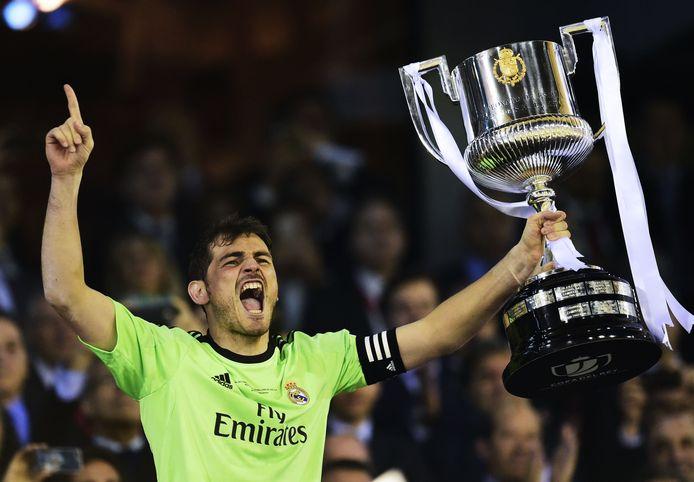 Iker Casillas, gewezen prijzenpakker bij Real Madrid.