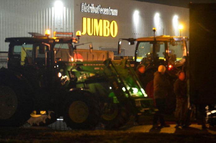 Boerenprotest in Breda.