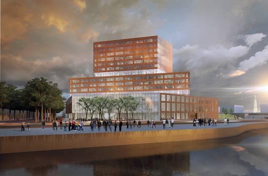 Het gerechtsgebouw in Breda. Start: 2016