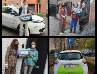 Drie winnaars gaan aan de haal met abonnement voor deelwagen en een rijtegoed ter waarde van 550 euro